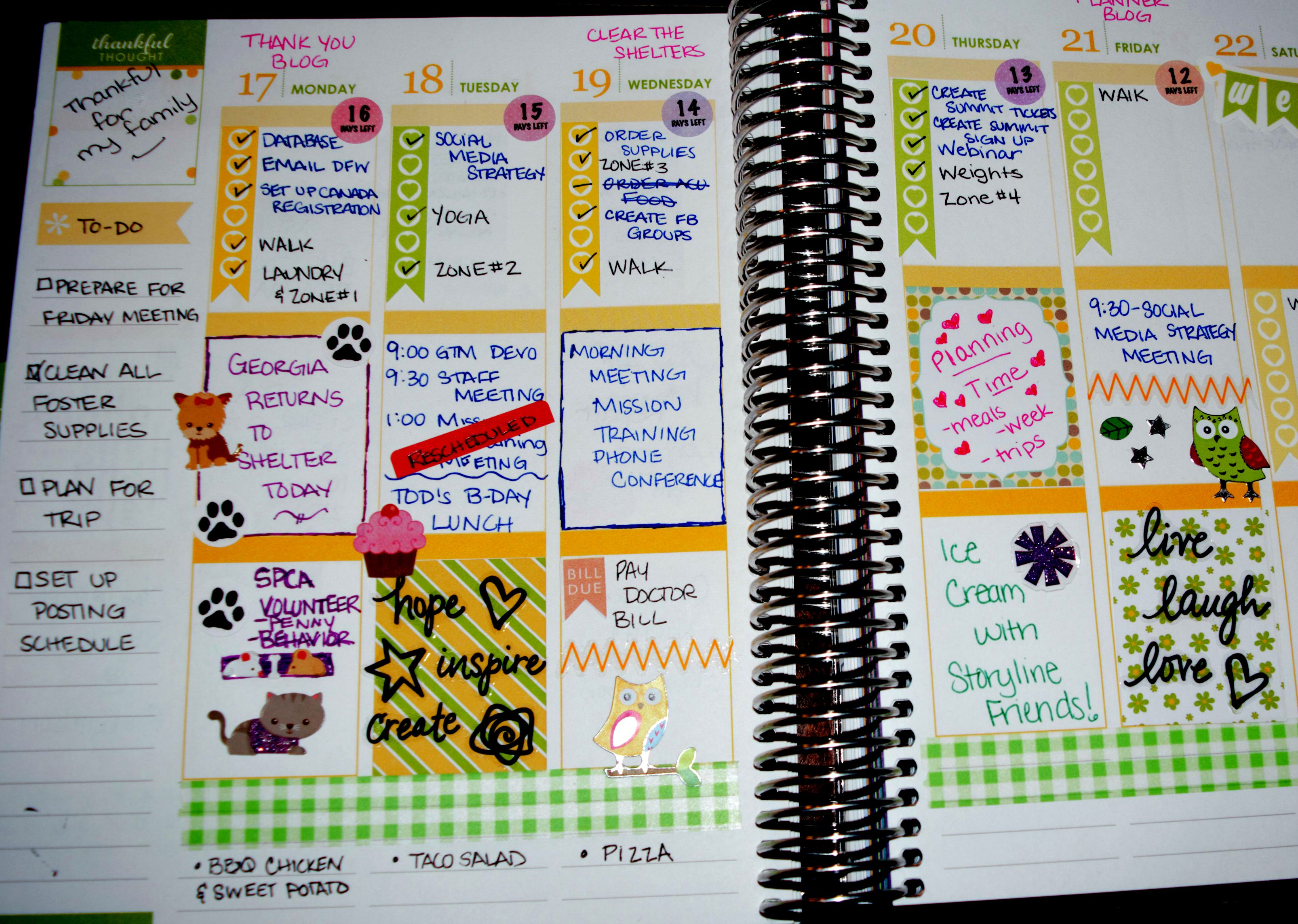I Might Be A Planner Addict